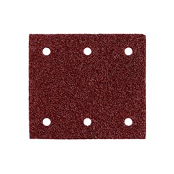 10 hojas de lijar adhesivas 115x103 mm,P 80,mad+met,SR (625621000) Herramientas METABO