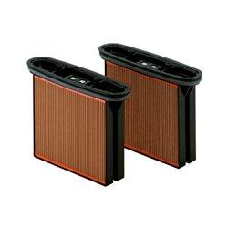 2 cartuchos filtrantes, celulosa, clase de polvo M (631933000) Herramientas METABO