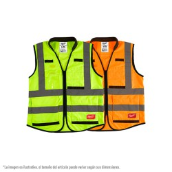 Chaleco alta visibilidad Premium Amarillo - S/M 4932471895 MILWAUKEE Herramientas Milwaukee