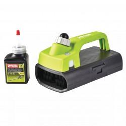 Cepillo limpieza para Cortasetos + aceite lubrificante 76 ml - universal (ancho máximo 10 cm) Herramientas RYOBI