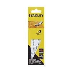 STA21172-XJ - 2 Hojas HCS para corte fino y recto Herramientas STANLEY
