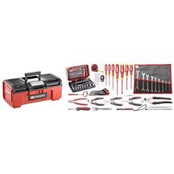 Selección electromecánico 80 herramientas - caja de herramientas plástica FACOM Ref. BPC16N.EM40A Herramientas FACOM