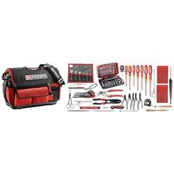 Selección electricista 94 herramientas - caja de herramientas textil FACOM Ref. BST20.EL32 Herramientas FACOM