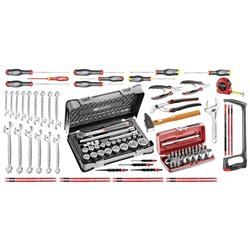 Selección mantenimiento industrial 96 herramientas FACOM Ref. CM.100A Herramientas FACOM