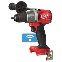 Taladro percutor M18 FUEL™ ONE-KEY™, 2 velocidades, par máximo 135Nm, portabrocas metálico 13mm. Se suministra en versión cero, Herramientas Milwaukee