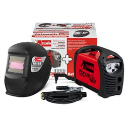 Soldadora MMA Inverter Force 165 + Casco Force 165 Herramientas ASLAK