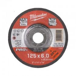 Disco PRO+ desbaste metal SG 27/180mm ( 10 Unidades ) MILWAUKEE Herramientas Milwaukee