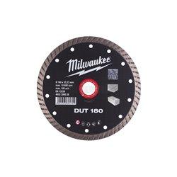 Disco diamante TURBO - DUT 180mm MILWAUKEE Herramientas Milwaukee