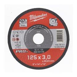 Discos PRO+ de corte 3mm - SC 41/115mm ( 25 Unidades ) MILWAUKEE Herramientas Milwaukee