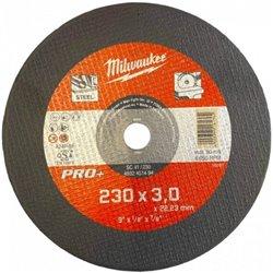 Discos PRO+ de corte 3mm - SC 41/230mm ( 25 Unidades ) MILWAUKEE Herramientas Milwaukee