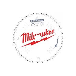 Disco P Alu235x30x2,4x60 TCG neg. MILWAUKEE Herramientas Milwaukee