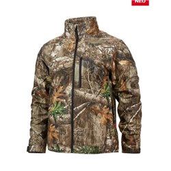 Chaqueta calefactada premium camuflaje M12, 5 zonas de calor, 3 niveles de intensidad, talla S Herramientas Milwaukee