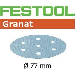 Festool Disco de lijar STF D77/6 P80 GR/50 Herramientas FESTOOL